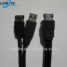 Black USB To Sata Cable