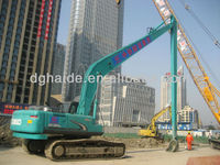 CE-approved Kobelco long boom and arm