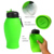 food grade silicone custom sports water bottle model