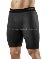 Cool Mens Semi Compression Shorts / Base Layer Underwear