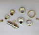 brass electronic cigarette component new model accessories cnc milling machine parts