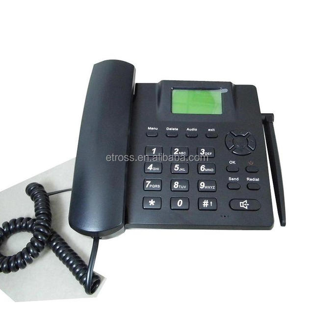 quad band GSM fixed wireless phone FWP 6188 Alarm&Calender&Calculator function
