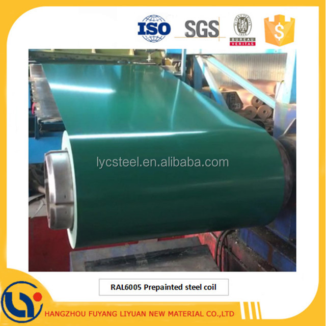 High Glossy Export Metal Roof Color Coated Galvanized Steel Coil Price Per Ton