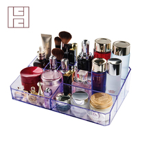 March expo Top Quality Custom Acrylic Beauty Cosmetic Organizers