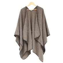 Ladies african print design cover up women tassel poncho muslim shirts and tunic tops
