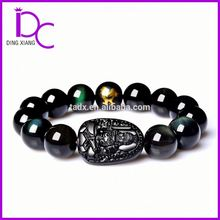 Wholesale Natural Obsidian Crystal Jewelry Bracelet Mascot Bracelet