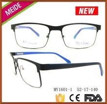 2014 new arrival lady optical frames metal eyeglass fashion style Made in China