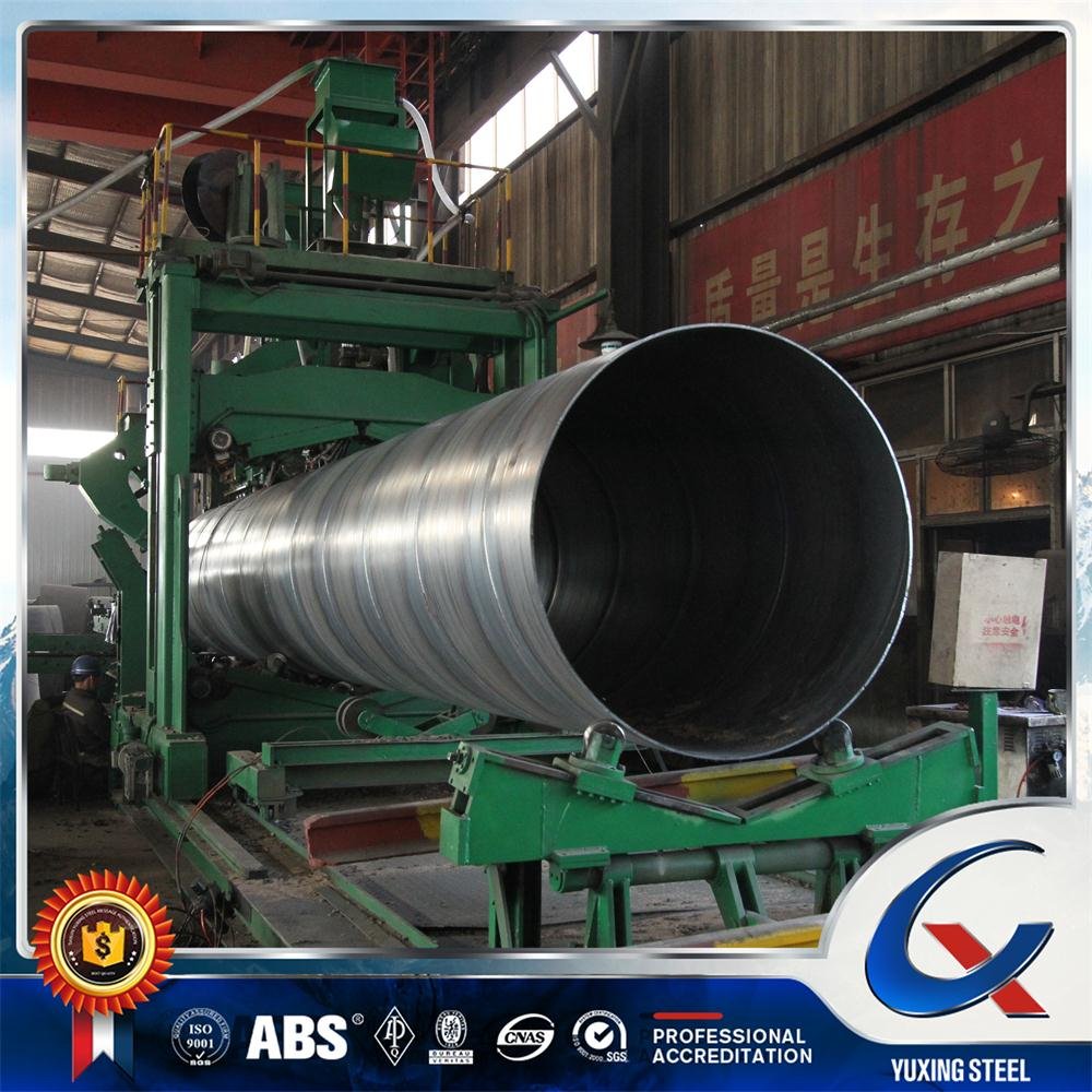 Manufacturer preferential carbon steel large diameter SSAW spiral steel pipes or tubes in 30 inch for conduit and oil line