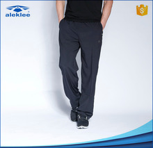 OEM Beijing service jogging pants 100% polyester casual long trousers for men