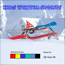 Kids Snow Slide in Metal and Plastic