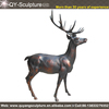 Polyresin And Resin Deer Figurines Fiberglass Deer Sculpture