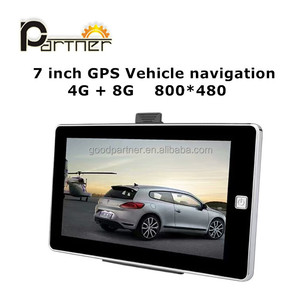 7 inch HD car gps navigation Portable Truck Car GPS Navigator with newest map system