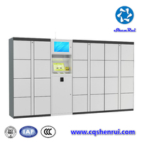 Hot New version intelligent parcel delivery locker & LCD Display Parcel Delivery Lockers & 3G / 4G / GPRS Remote Control Home