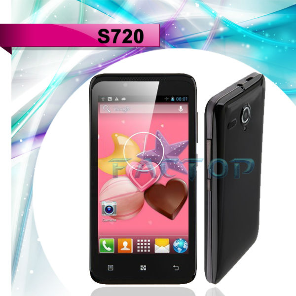 Pai MP S720 Dual Core MTK6572 Android 4.2.2 WCDMA Android Phone mtk6572