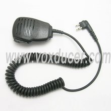 Wireless Communication 2 pin PTT Speaker Mic for Motorola GP2000 GP2100 GP300