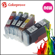 best selling products pgi-570 cli-571 compatible ink cartridge for canon 570 XL 571 XL for PIXMA MG6820 MG6821 MG6822 printer