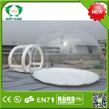 HI bubble tent/ inflatable car cover,inflatable crystal bubble tent,inflatable bubble dome tent