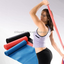 cheap yoga pilate theraband with high elasticity