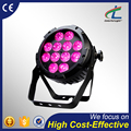 High end 12pcsx12w ip65 waterproof par light