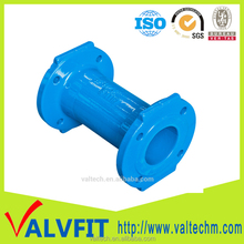 Waterworks Pipeline industries Piping Products Ductile Cast Iron Double Flange End Fittings pipe collar