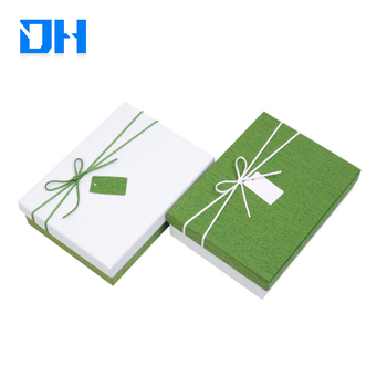 Custom Square Collapsible Cardboard gift box paper