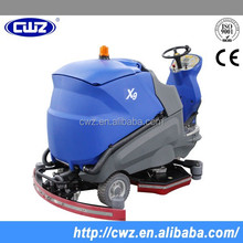 Good quality warehouse battery charge electric floor cleaning machine