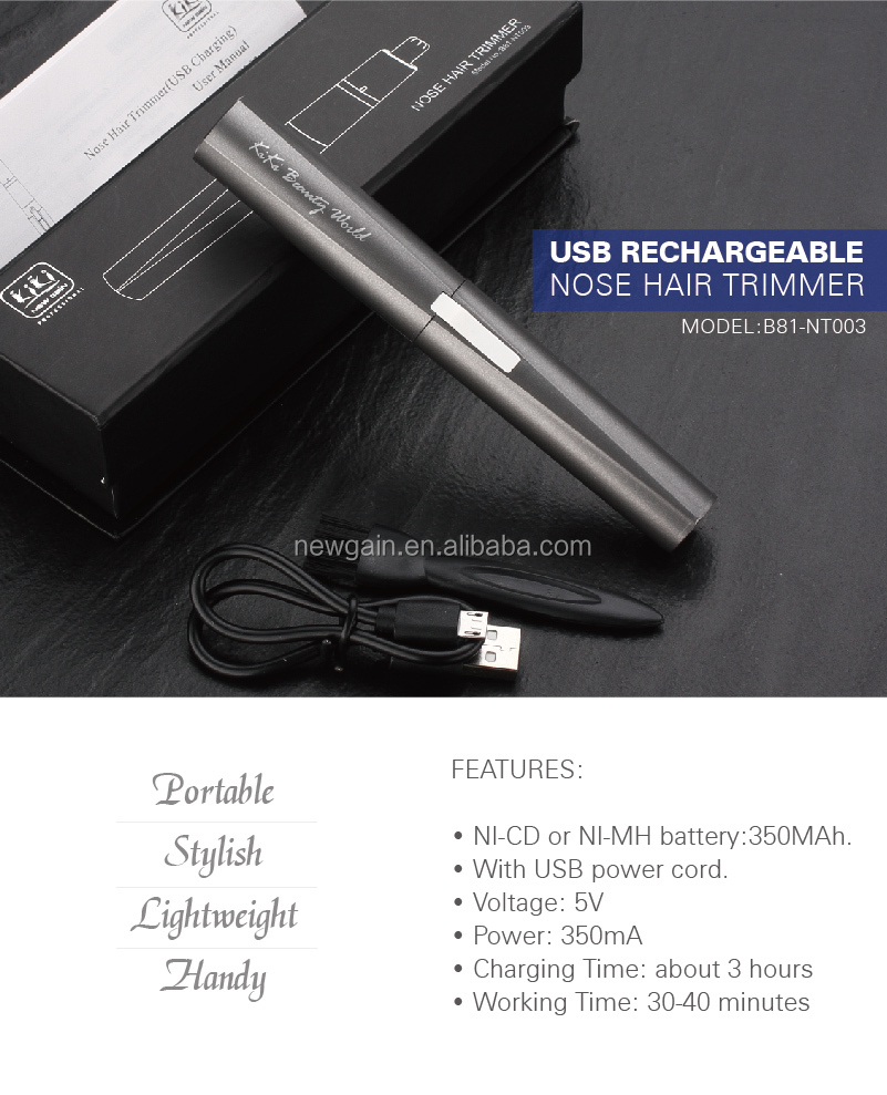 Independent research and development Personal Care Product electric nose hair trimmer