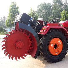 Factory hot sales Roadside stone trenching machine
