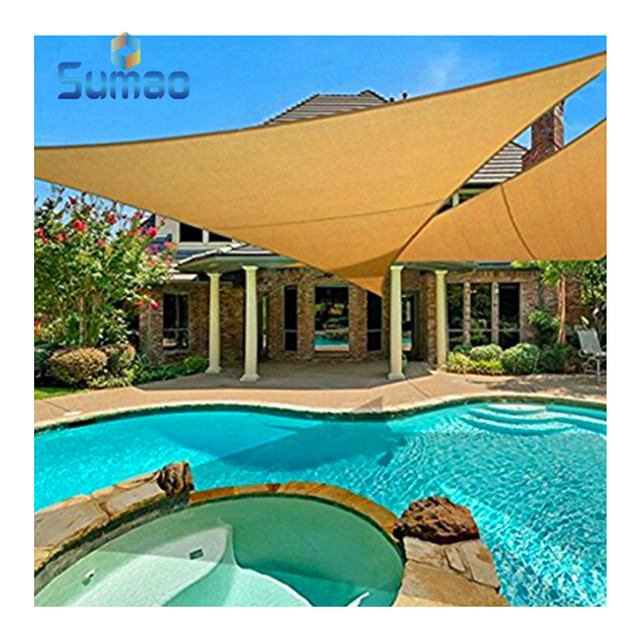 Wholesale Triangle or Square gardenline sun shade sail from Changzhou Factory