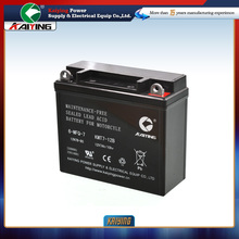 Free Maintenance Motorcycle Battery 12N7-BS of Hongda