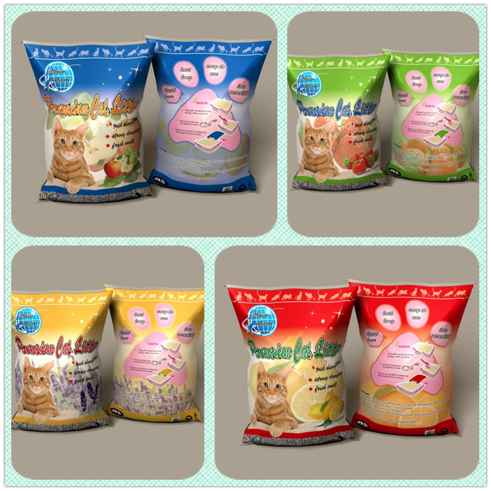Special Formula No Chemical Added Family Sized The Fmcg Trade Bentonite Activated Carbon Silica Beads Mixed Clumping Cat Litter