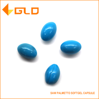 OEM manufacture pure saw palmetto seeds oil extract softgel capsule