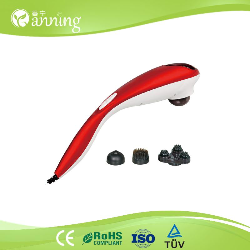 Most popular handheld comfortable massager,portable electrical stimulation machine,vibrating personal massager for men
