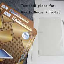 Top quality 9H Tempered Glass screen protector for Asus Google Nexus 7 II Tablet 2013 2 Generation
