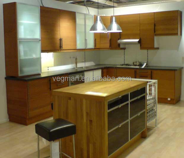 Simple wood grain kitchen pantry cabinet design kitchen cabinet glass shelves