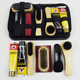 Wholesale Black PortableTravel Shoe Cleaning Set