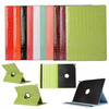 360 degree rotated PU Leather case for iPad Pro 12.9""