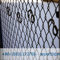 Application in highway,commercial and schools chain link fence