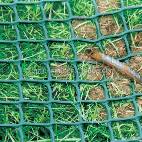 Heavy Duty Plastic Hdpe Extruded turf grass Ground Reinforcement Mesh