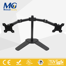 Amazon Hot Selling Double Arm Monitor Stand Factory Price New Design