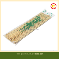High Quality Round BBQ Natural Craft Thin Bamboo Stick