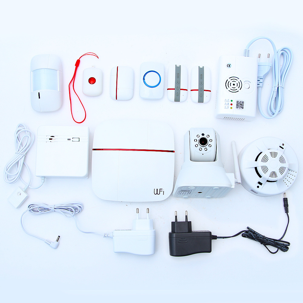 New Arrival Android/IOS APP Control Intelligent Smart Home Wireless Security Alarm System