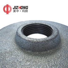 Cheap malleable cast iron round floor blind flange pipe fittings