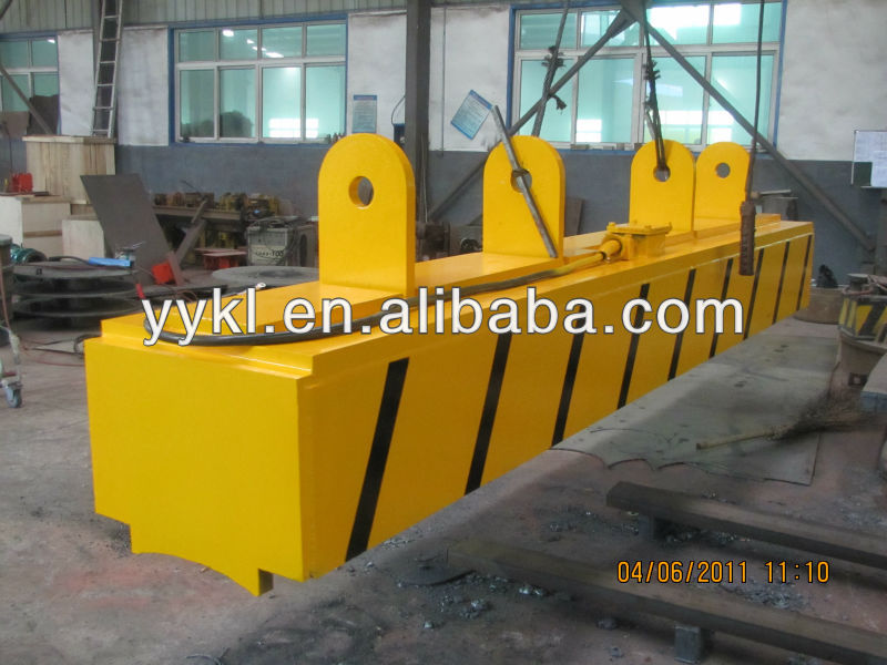 MW22 Series electrical holding magnet for handling girder billet