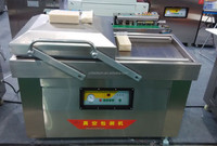 price for double chamber vacuum packing machine/red bayberry vacuum packing machine DZ(Q)-500/2SB
