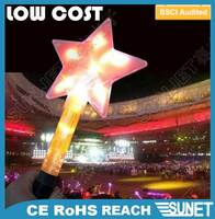Hot selling in 2016 concert party favor low cost led glow star stick