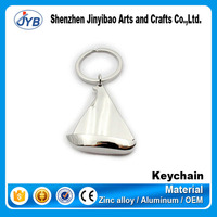 2016 fasion Custom 3d metal keychains, zinc alloy material keyrings