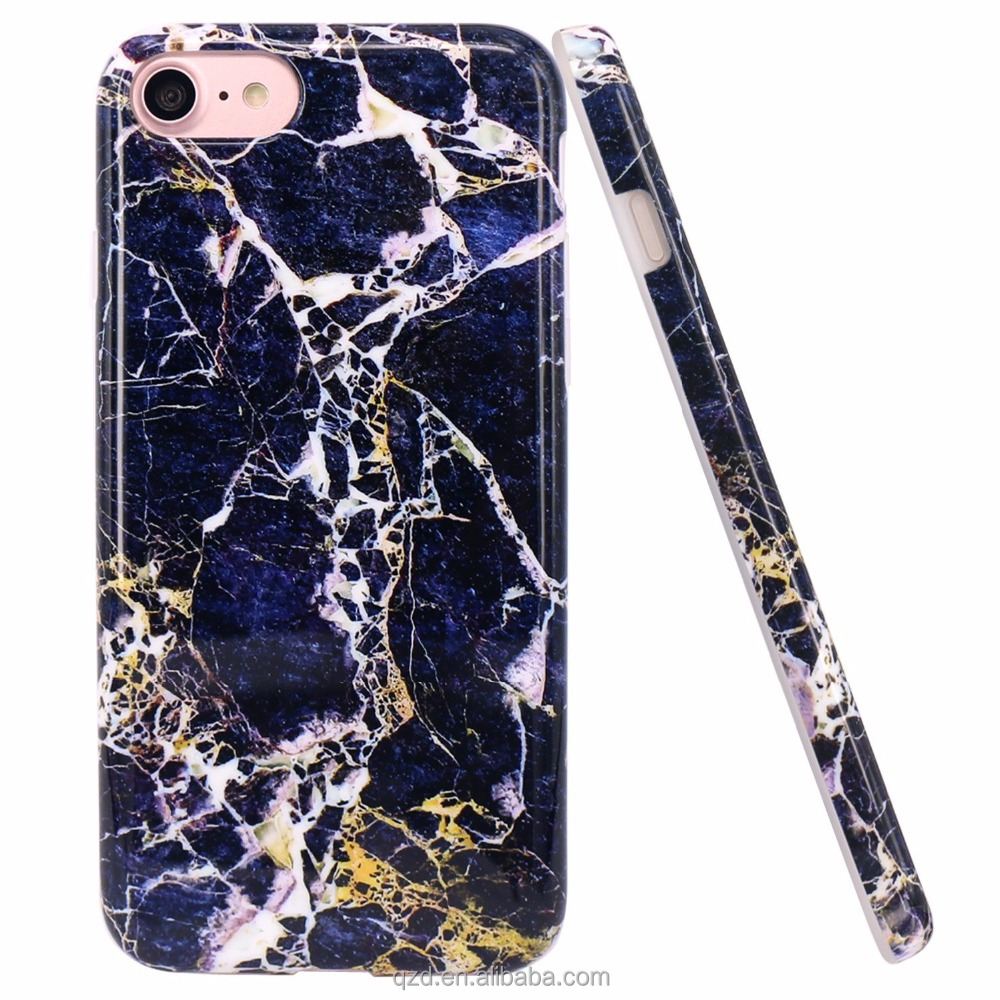 For Amazon Hot Sale Bule Granite Marble Phone Case 2016 super amazing reality IMD marble tpu phone case for iphone 6/6s 6S plus