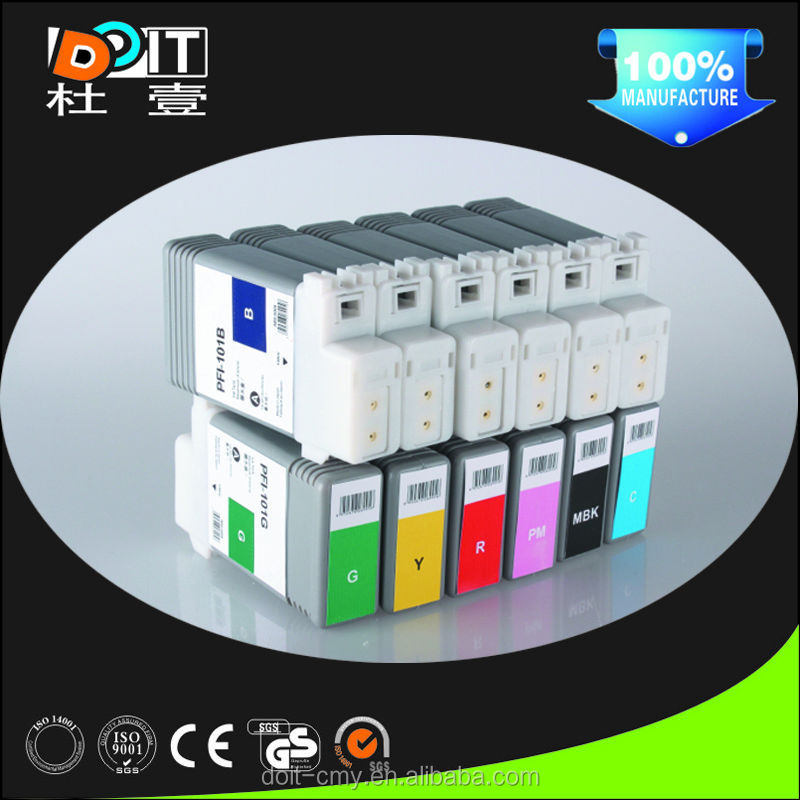 Hot!Wide format Printer compatible Ipf 5100 6100 Ink Cartridge For Canon