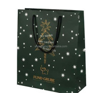 hot sales good quality china manufacturer of christmas paper bag,decorative paper bag for gift,luxury paper shopping bag